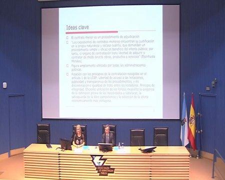 Procedemento de adxudicación. Contratos menores  - A nova Lei de contratos do sector público na Administración local